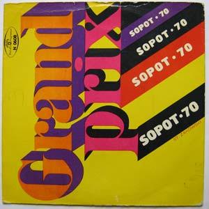 ESCOBAR,MANOLO - Grand Prix - Sopot 70 - 45T (EP 4 titres)