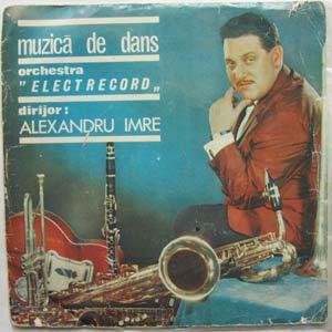 ELECTRECORD & ALEXANDRU IMRE - Muzica de dans - 45T (EP 4 titres)