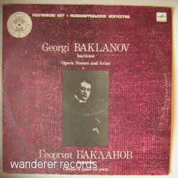 BAKLANOV,Georgi - Opera Scenes and Arias