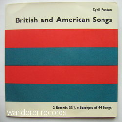 PUSTAN,Cyril - British and American Songs