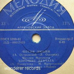 LAINE, MUSLIM MAGOMAEV, VLADIMIR TROSHIN, VALENTIN - 00017421 EP - 45T (EP 4 titres)