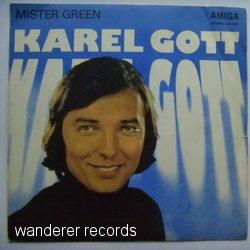 GOTT,KAREL - Mister Green / Wanderer - 7inch (EP)