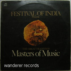FESTIVAL OF INDIA - Masters of Music