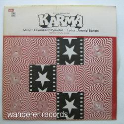 ANURADHA, ARUN BAKSHI, DILIP KUMAR, MANHAR, KAVITA - Karma - 33T