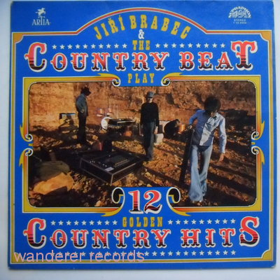 COUNTRY BEAT (& Jiri Brabec) - 12 golden country hits