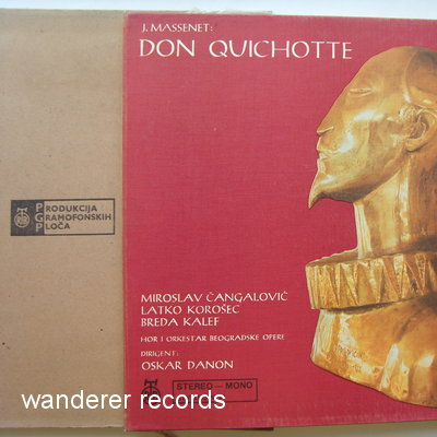 Oscar DANON - Don Kihot - Don Quichotte