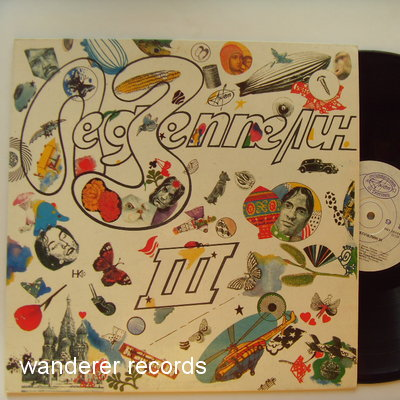 LED ZEPPELIN - III - USSR rare single LP