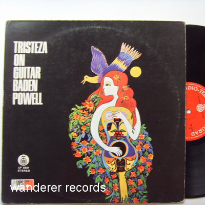 POWELL,Baden - Tristeza on Guitar