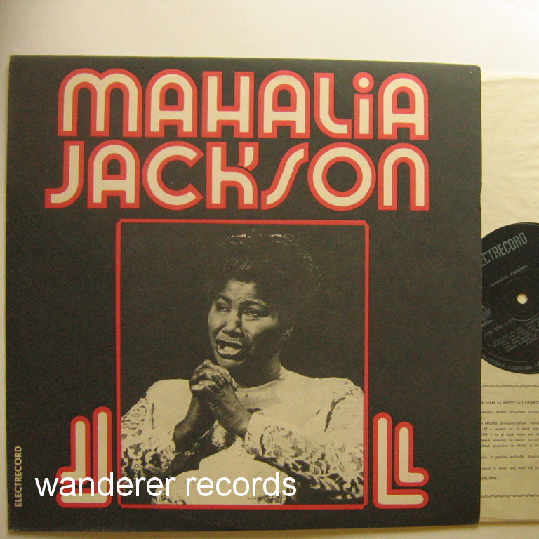 01453 Romania Mahalia Jackson