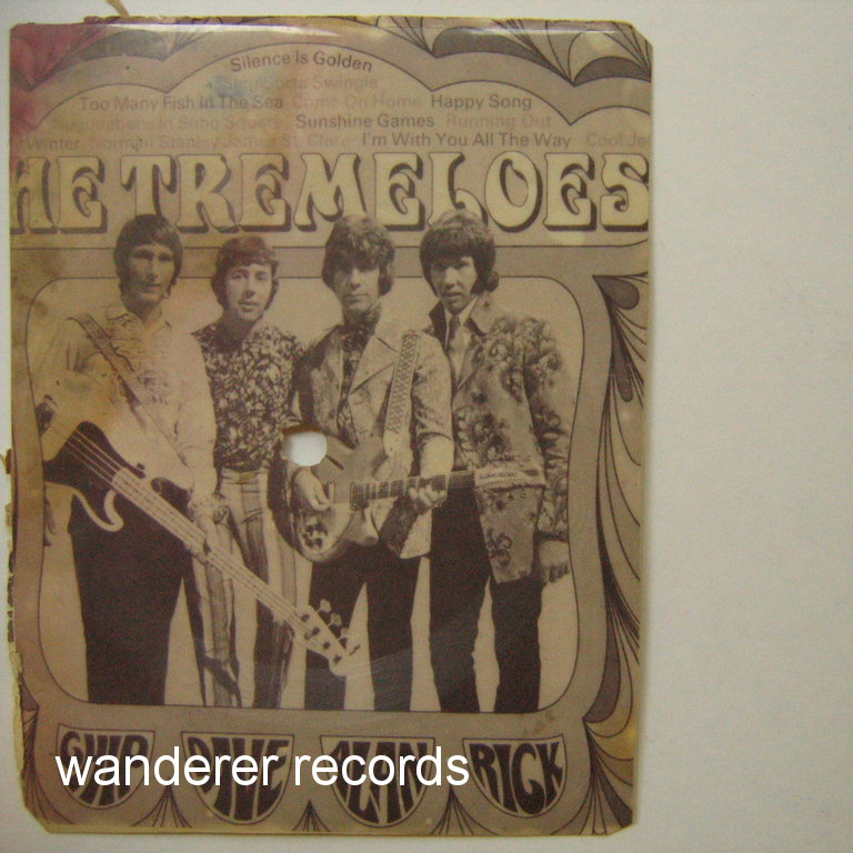 TREMELOES - The Tremeloes picture music postcard