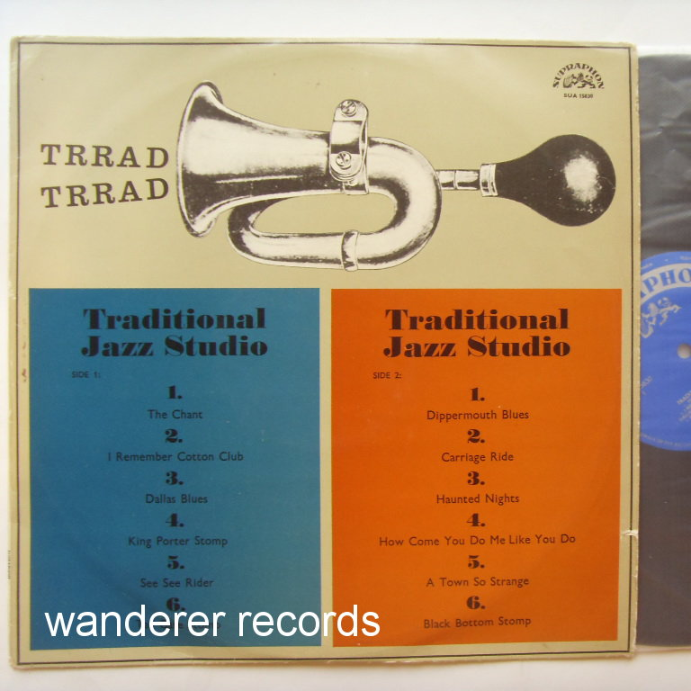 TRADITIONAL JAZZ STUDIO - Trrad Trrad