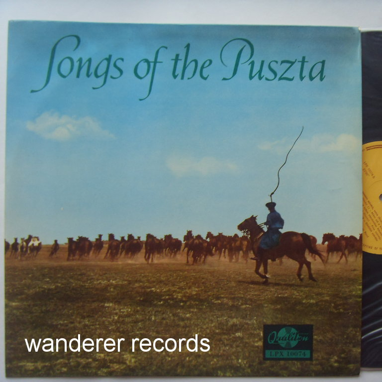 Boross Lajos and his Gipsy Band - Songs of the Puszta -top mint unplayed Rthnic traditional music
