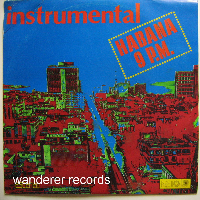 INSTRUMENTAL ORQUESTA EGREM - Habana 9 P.M. cover only, no record.
