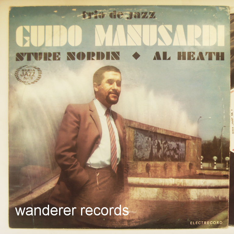 MANUSARDI,Guido Sture NORDIN, Al HEATH - Trio de jazz