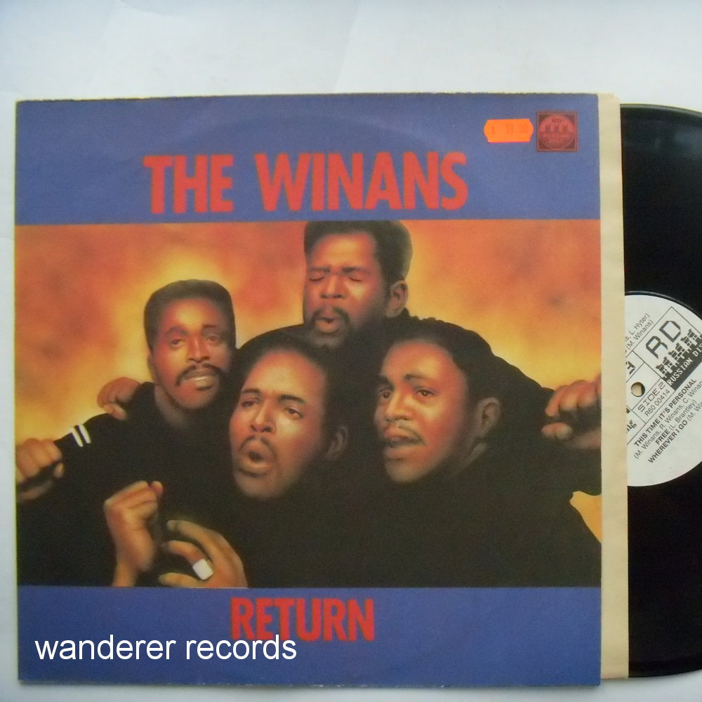 WINANS - Return -unplayed, RUSSIAN press