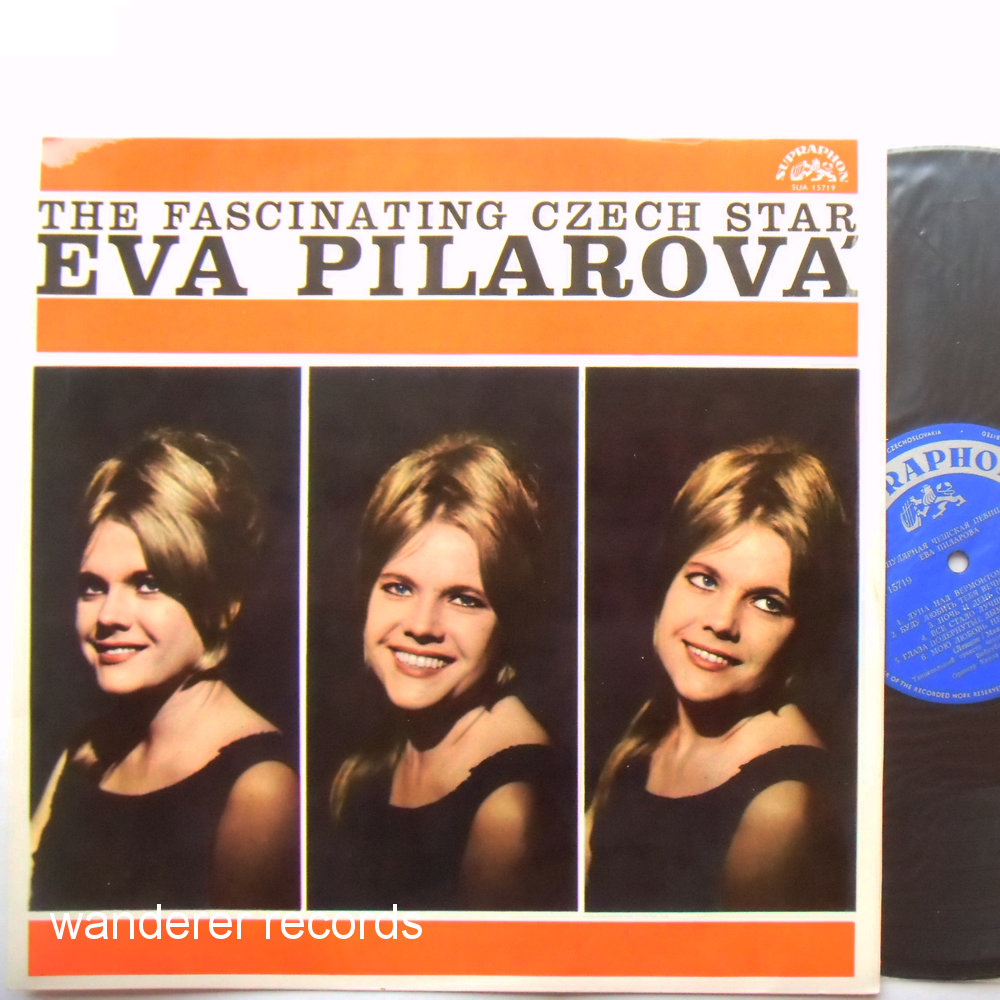 Eva PILAROVA - The fascinating Czech star - unplayed
