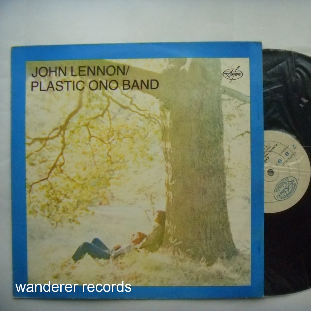 LENNON,John - Plastic Ono Band Light blue color
