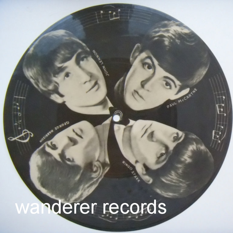 THE BEATLES, SINYAYA PTITSA - X-ray roentgen film roentgenizdat record