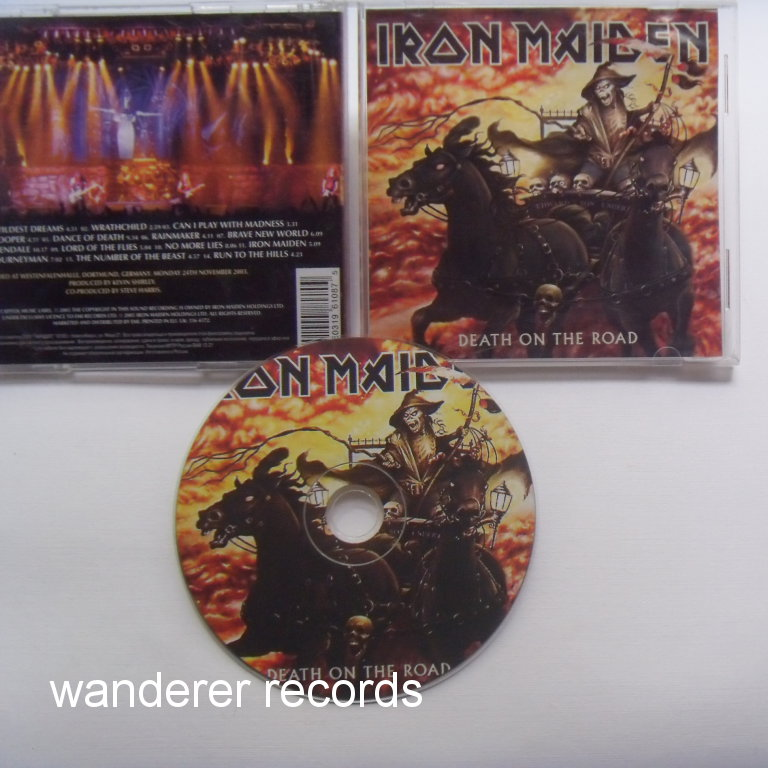 IRON MAIDEN - Death to the road 14 tracks ON ONE CD