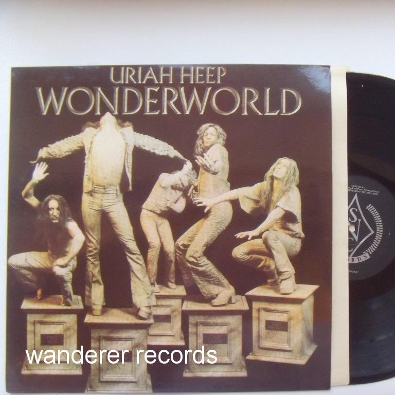 Uriah Heep Wonderworld Russian Unplayed
