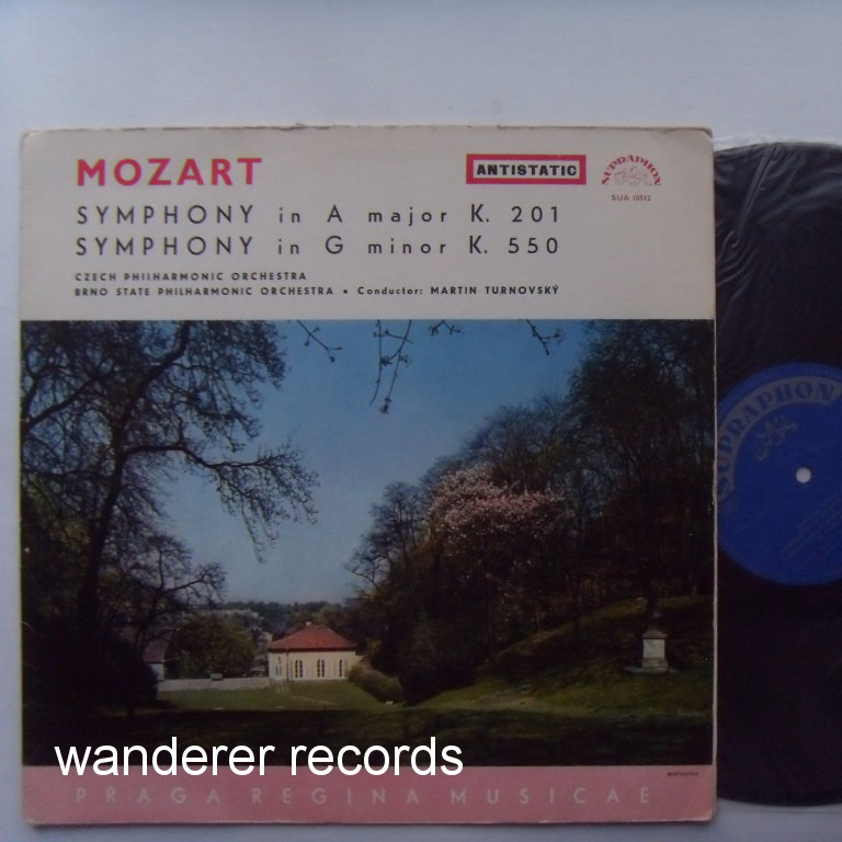 Martin TURNOVSKY - Mozart Symphony in A major K. 201, in G major K. 550