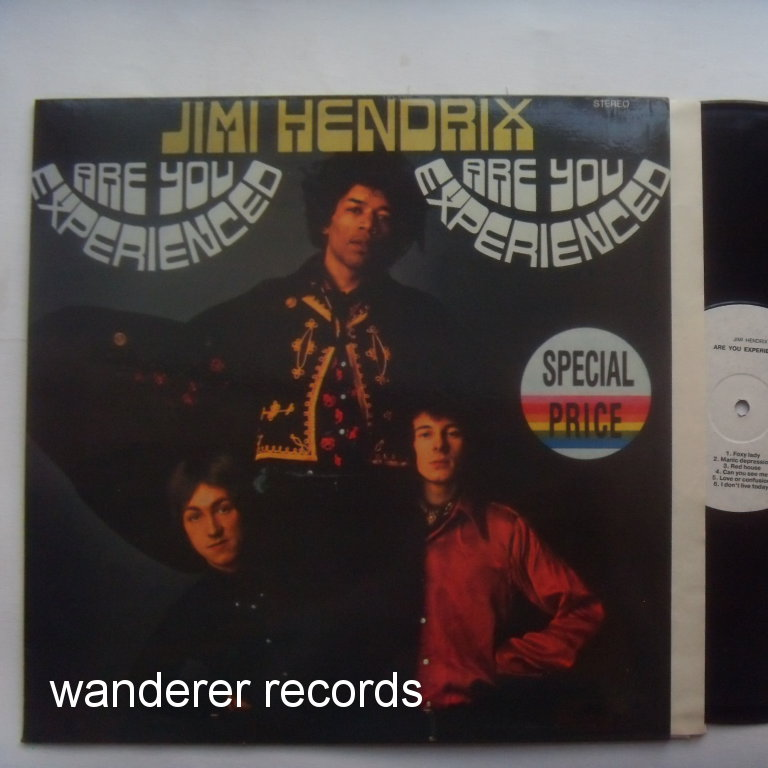 Jimi HENDRIX - Are you Experienced rare russian MINT