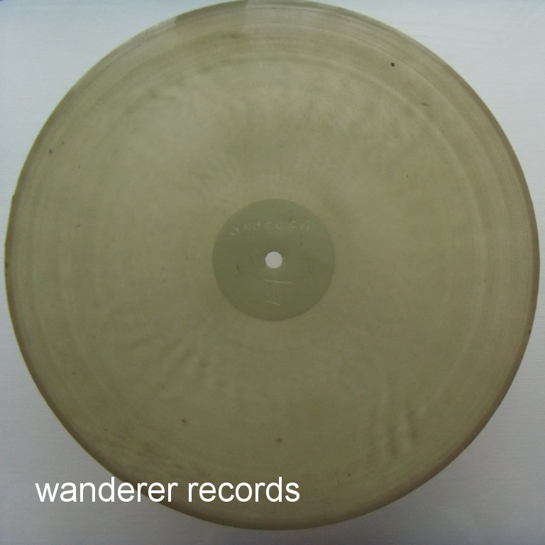 UNKNOWN PERFORMER - Spoken word comedy 2 sided,  X-RAY roentgen film roentgenizdat 1950s record