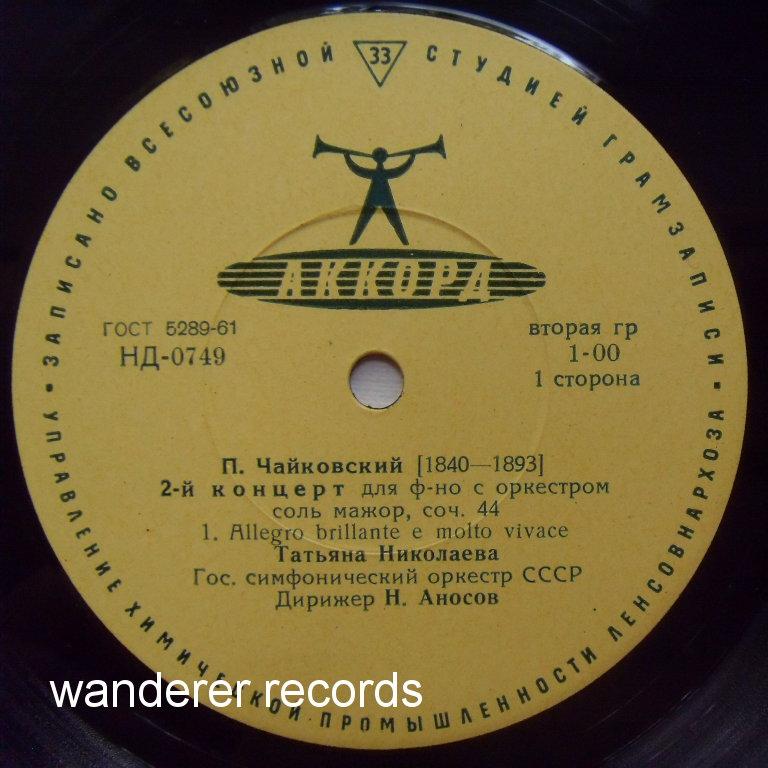 Tchaikovsky Piano Concerto No 2