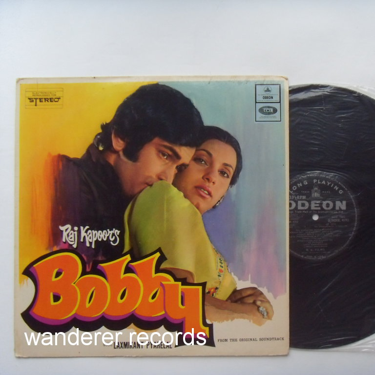 MANNA DEY, SHAILENDA SINGH, CHANCHAL, LATA MANGESHKAR - Bobby 1972 Bollywood India moovie songs