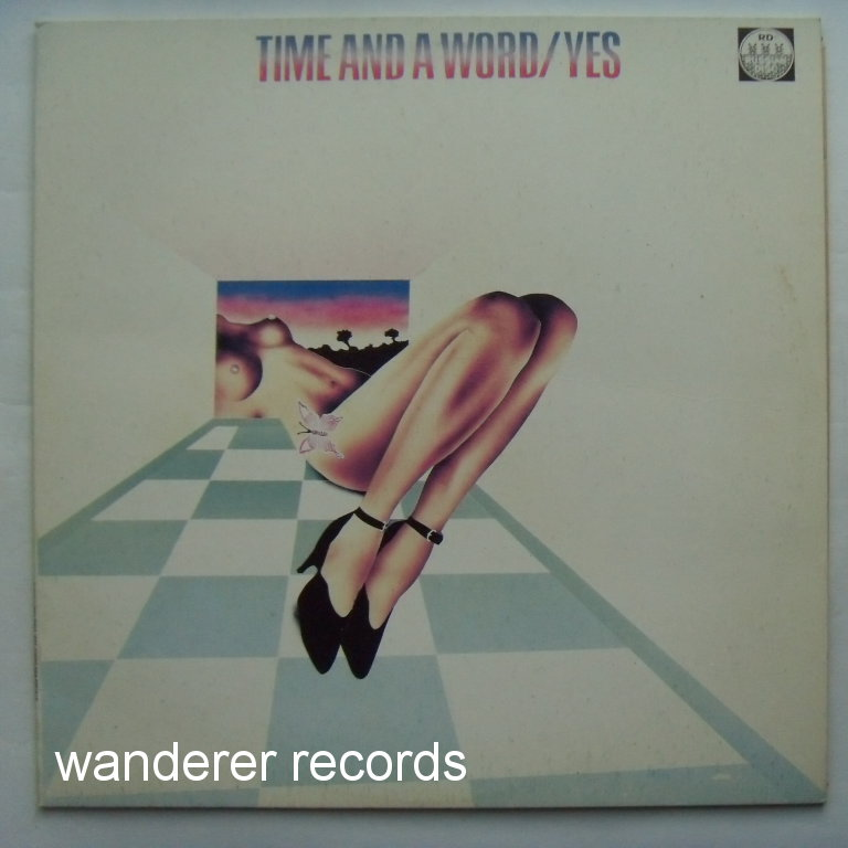 YES - Time and a word - different cover!
