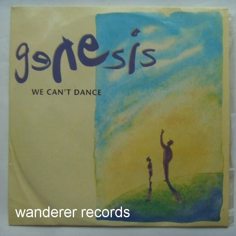 GENESIS - We can't dance Rare one LP russian edition