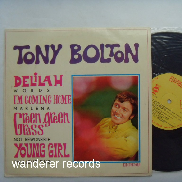 Tony BOLTON - Tony Bolton, covers of M.Gibb, Les Reed-Bary Mason etc.