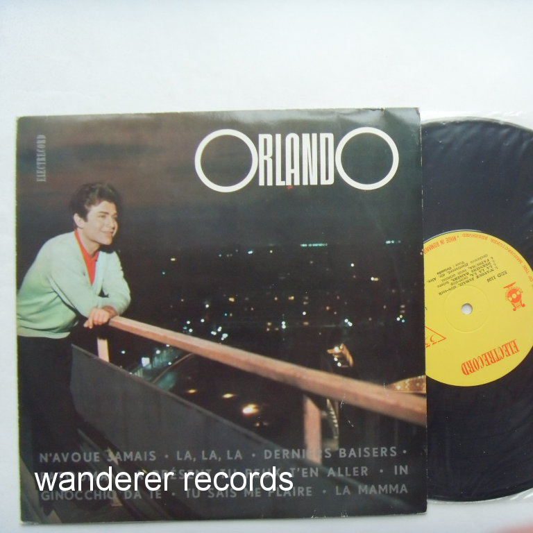 ORLANDO - 1960s 10'' LP recorded in Romania