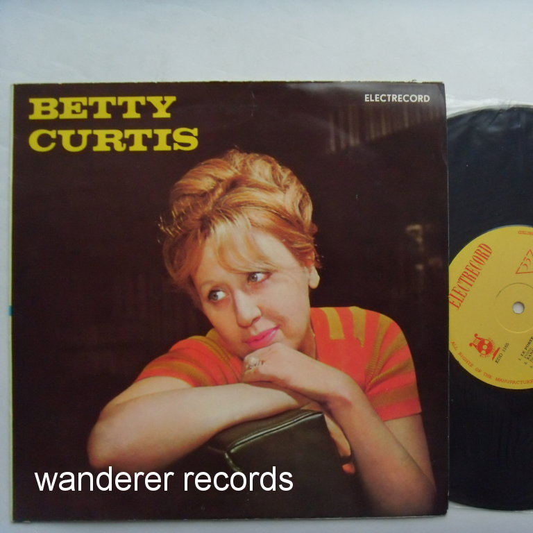 Betty CURTIS - Betty Curtis with Franco Monaldi orchestra