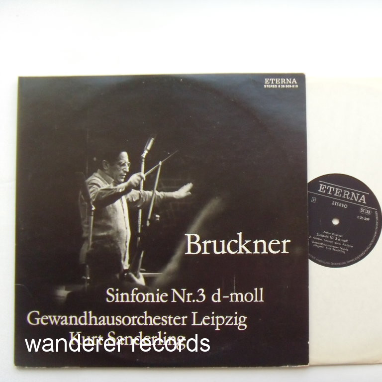 SANDERLING - Bruckner Symphony No.3 2LP