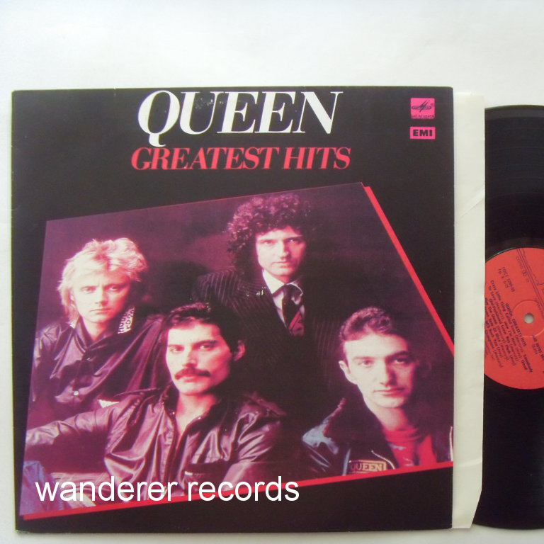 QUEEN - Greatest Hits - russian Leningrad white label LP
