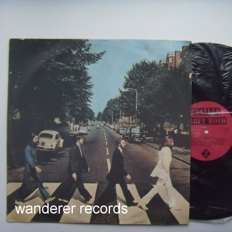 BEATLES - Abbey Road - russian LP