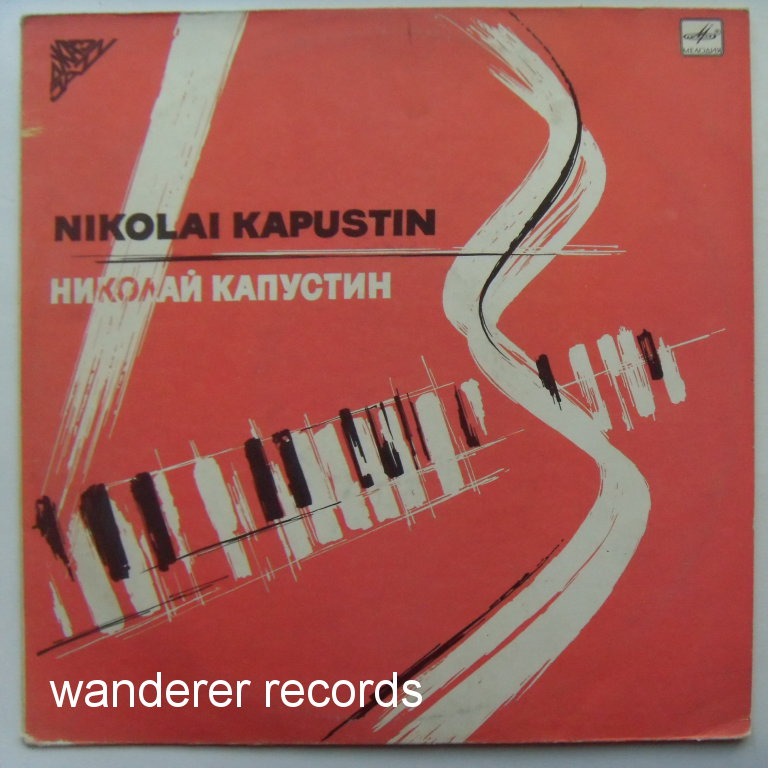 Nikolai KAPUSTIN - Eight concert studies for piano, sonata-fantasia for piano