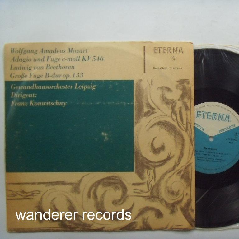 konwitschny mozart adagio and fugue kv 546, grosse fugue op. 133 unplayed