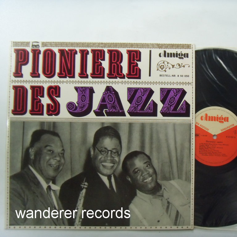 CLARENCE WILLIAMS, SARAH MARTIN, KING OLIVER, MARGAREL JOHNSON, MAMIE SMITH, VICTORIA SPIVEY - Pioniere des jazz - LP