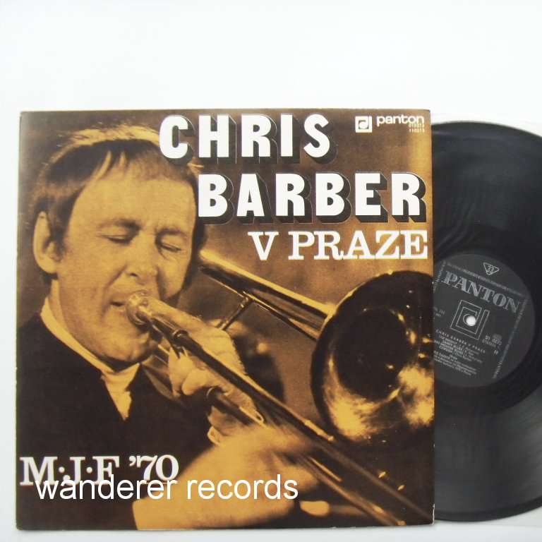 Chris BARBER - Chris Barber v Praze (In Prague) 1970